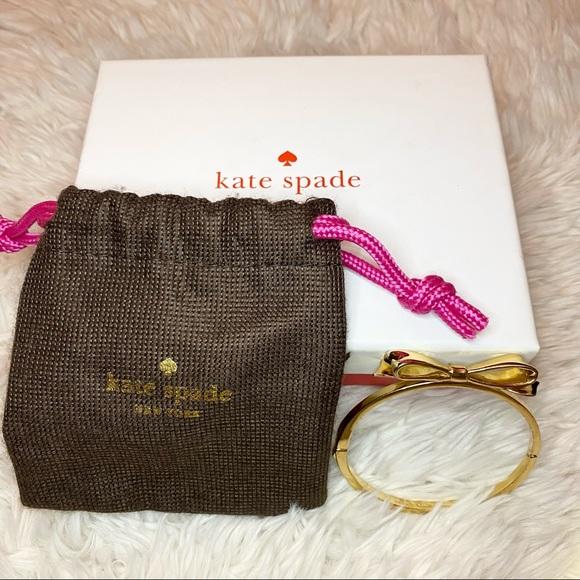 Kate Spade Gold Bow Bangle Bracelet